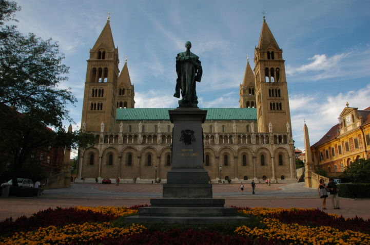 cathedral in Pécs