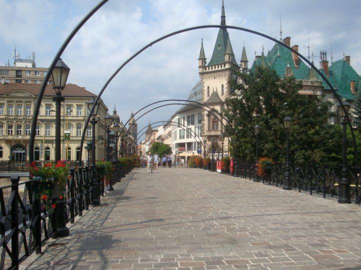 pályaudvarról Óvárosba vezető híd
