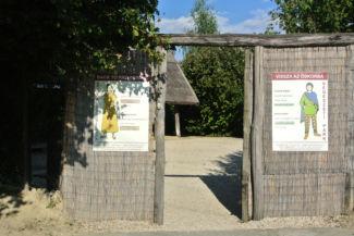 Régészeti Park bejárata