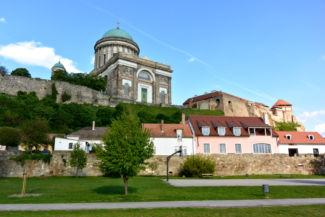 a Bazilika a Duna-parti Erzsébet parkból