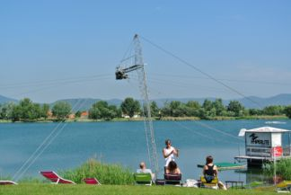 Wakeboard Center at Lake Omszk