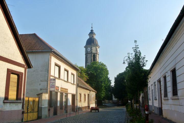 Szent Kereszt felmagasztalása-templom tornya