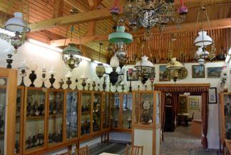 a lámpamúzeum első szobája