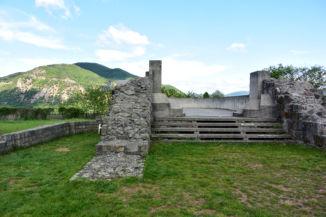 a dömösi prépostság romjai
