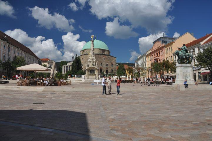 glavni trg Pečuha