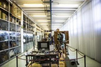 régi vetítők a Műszaki Tanulmánytárban