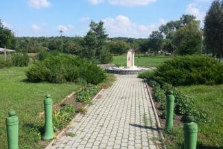 Szent István-kút a Millenniumi parkban