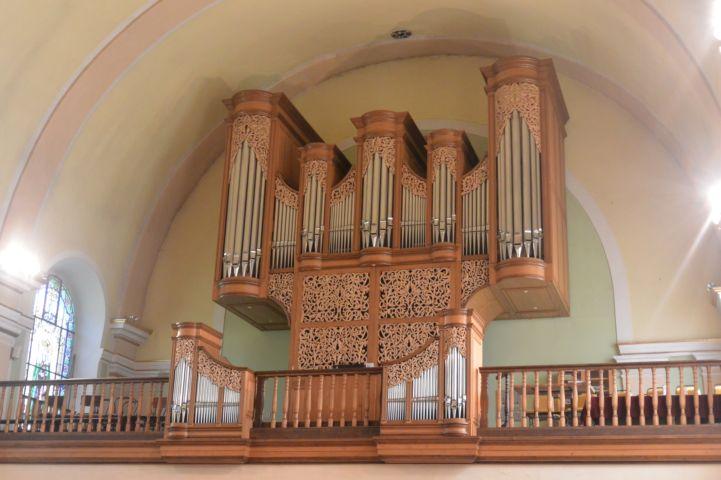 Szent Kereszt felmagasztalása plébánia templom orgonája