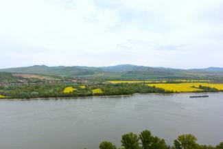 Dunai panoráma a Hideglelős-kereszt mellől