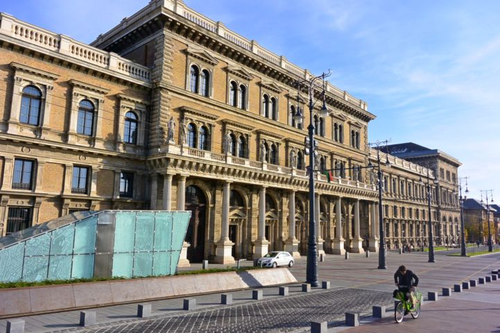 Main Building of Corvinus University of Budapest