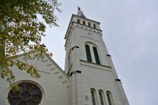 Jézus Szíve-templom tornya