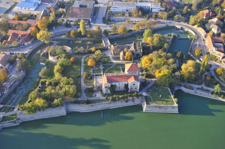 légifotó a várról