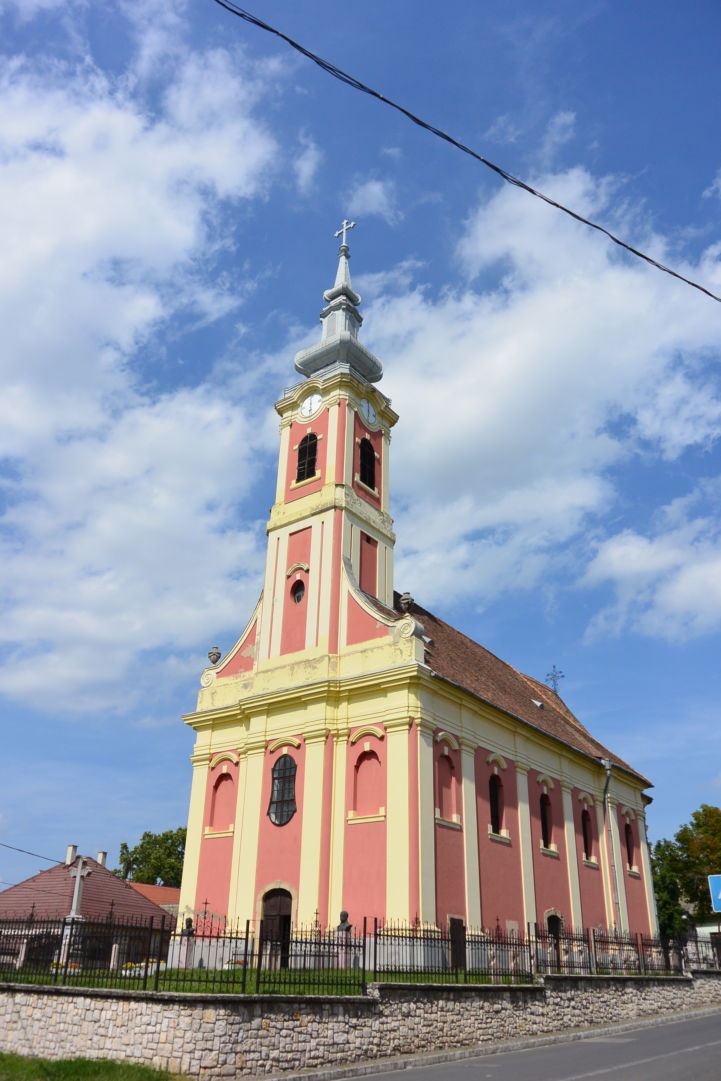 a szerb Szent Miklós Görögkeleti plébániatemplom