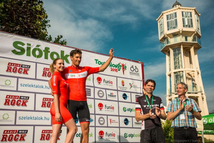 a 2016-os Tour de Hongrie befutója Siófokon