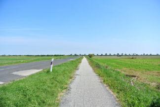 útszakasz Fertőd és Pamhagen között