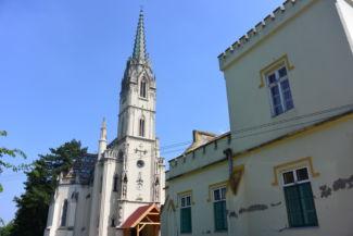 Szent Anna-templom és a Redl-kastély
