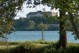 Öreg-tó és az Eötvös József Gimnázium