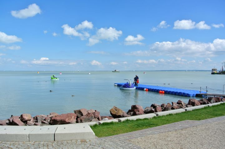 shores of the Balaton at Balatonfüred