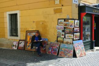 Painter at the Main Square