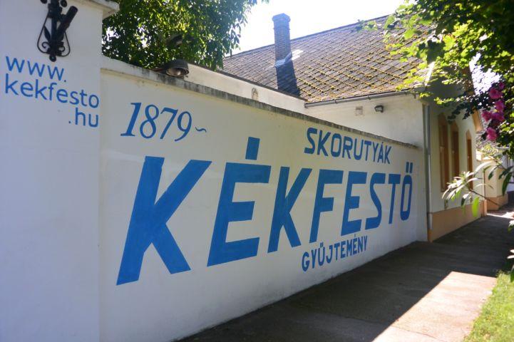 Skorutyák család kékfestő műhelye
