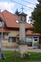 1848-as emlékmű a Horogszegi határsor és a Honfoglalás utca sarkán