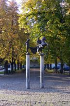 Szent Márton-szobor