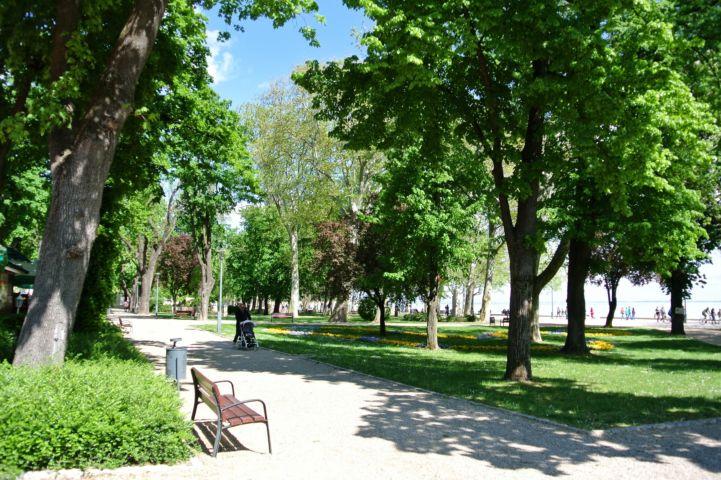 park in Füred