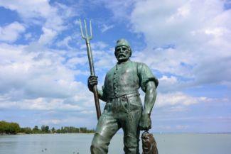 Halász-szobor