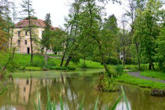 Mikes-kastély - park