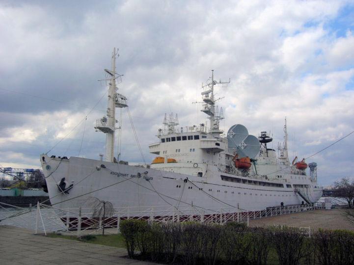 Koszmonavt Viktor Pacajev múzeumhajó