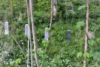 régi zsidó temető sírkövei