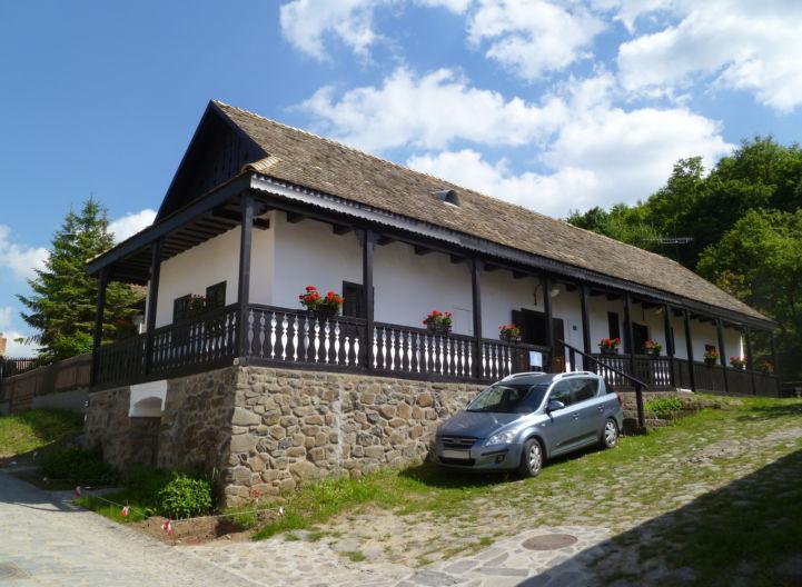 tipikus palóc ház Ófaluban