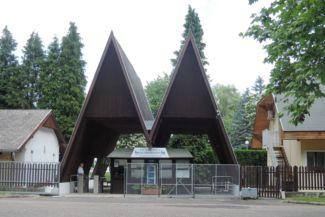 Lenti Termálfürdő és Szent György Energiapark bejárata