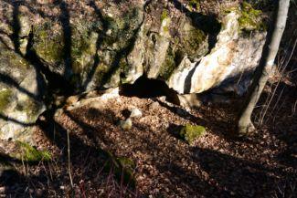 Átjáró-kúp (Átjáró-barlang), a tihanyi gejzírkúpok egyike