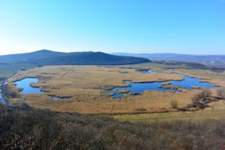 Külső tó a Kis-Erdő-tetőről