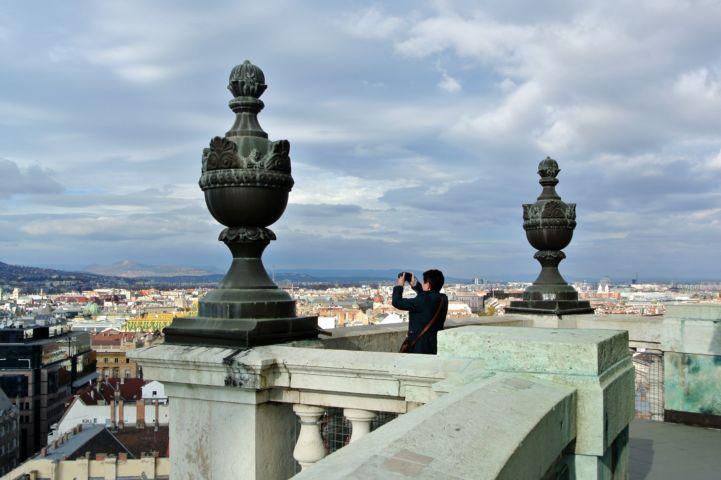 a Bazilika panoráma kilátója