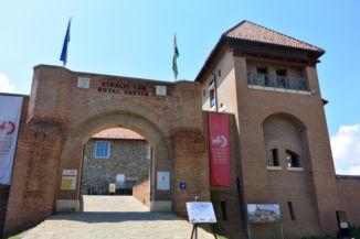 az esztergomi vár, ma Vármúzeum bejárata