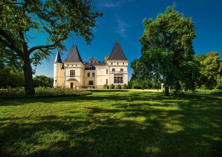 a tiszadobi Andrássy-kastély (Fotó: Forster Központ)