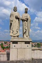 Szent István és Boldog Gizella szobra