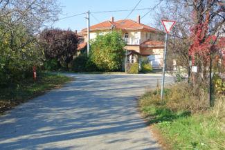 szép lakóház a Krasznahorkai utca végén