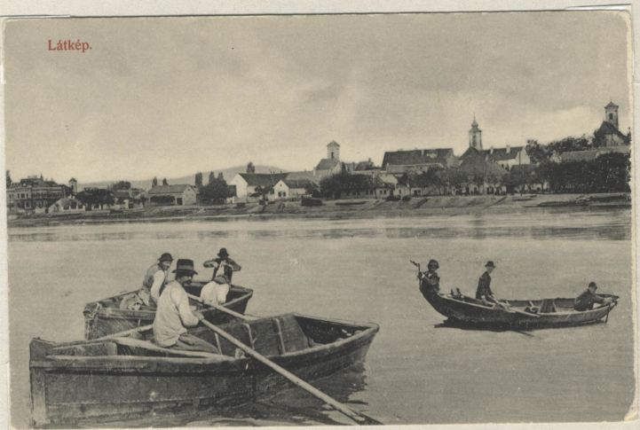 old postcards from Szentendre