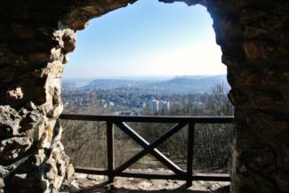 kilátás az Árpád-kilátóból