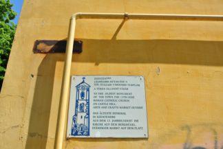 St. John the Baptist Church information board