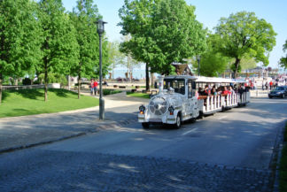 sightseeing mini train