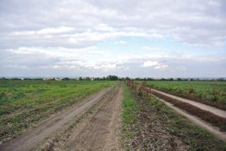 útszakasz Kajászó közelében