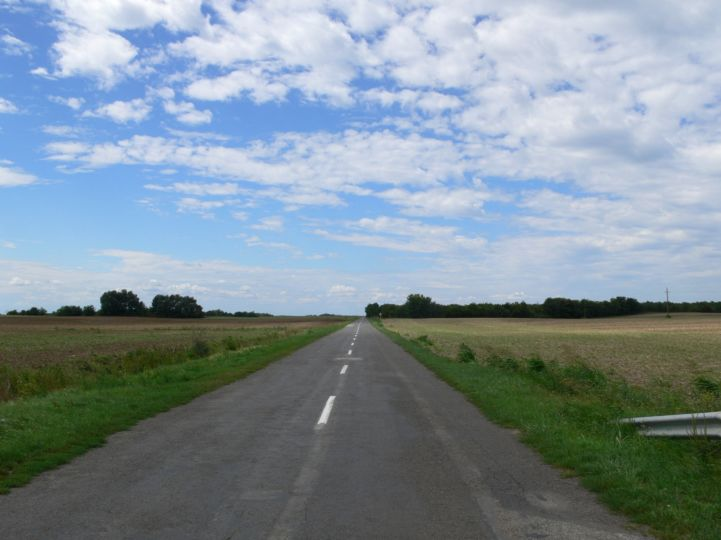 Bácsborsód és Gara között út
