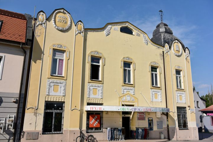 1872 évszámos épület