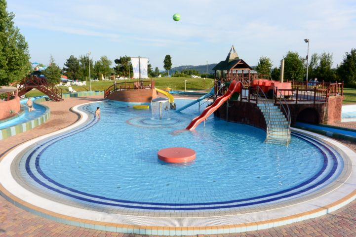 children adventure pool in the Annagora Aquapark