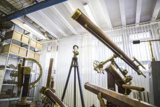 csillagászati eszközök a Műszaki Tanulmánytárban
