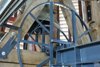 bell mechanism in the tower of the Matthias Church